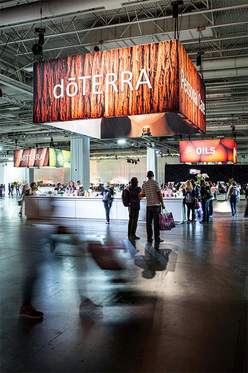 doTERRA Product Showcase Hanging banner