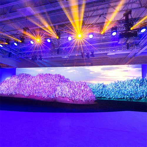 doTERRA 2017 General Session Lavender Stage