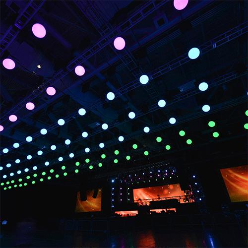 Domopalooza 2018 Kinetic Lights