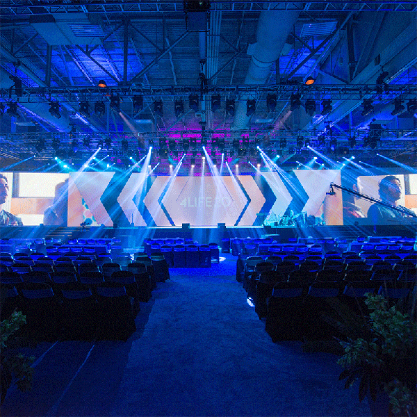 4Life 2018 General Session Stage