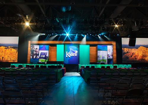 Kyani 2019 International Conference Stage