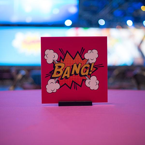4Life 2018 Superhero Party Table Decor