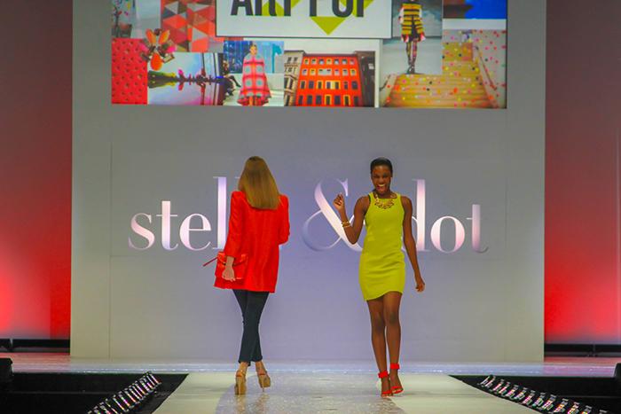 Stella & Dot Fashion Show Stage